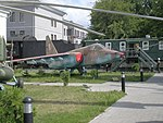 Sukhoi Su-25, Museum of Military Glory in Homel, Belarus.jpg