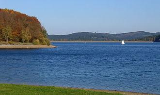 Sorpe Dam - Image: Sundern Sorpesee 2 Asio