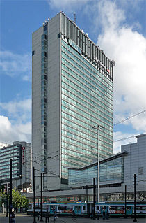 City Tower, Manchester skyscraper in Manchester, England