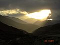 Sunset in Chilas, Pakistan.jpg
