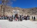 Suris rindiendo homenaje a Sta Rosa de Lima.jpg