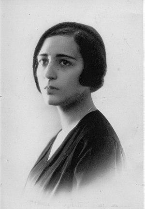 Susana Calandrelli - Susana Calandrelli, ca. 1920, Argentina writer, Calandrelli's family archives