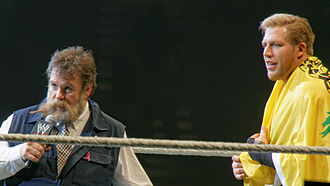 Dutch Mantel - Mantel returned to WWE in 2013 as Jack Swagger's manager, Zeb Colter