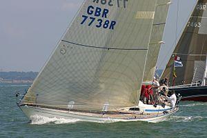 Swan 38 (yacht) - Image: Swan 38 Jacobite GBR7738T 2011 Euros