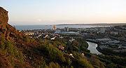 Swansea from kilvey hill