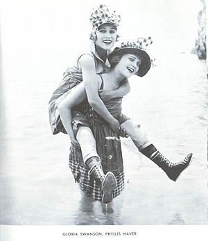 The Pullman Bride - Gloria Swanson and Phyllis Haver