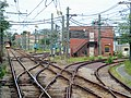 Switches to Orient Heights Yard, July 2015.JPG