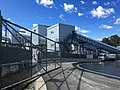 Sydney Metro Cherrybrook Station worksite, August 2015.jpg