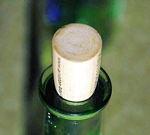 Alternative wine closure - A synthetic cork is designed to look and function like natural cork
