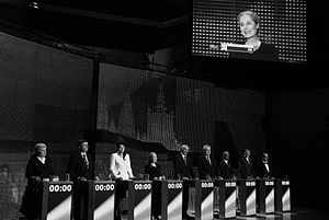 Czech presidential election, 2013 - Presidential debate of Czech Television (ČT)