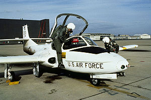 449th Expeditionary Flying Training Squadron - Cessna T-37 at Mather Air Force Base