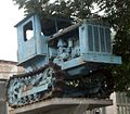 T-38 Tractor on pedestal in Kasinovsky, Kurskaya oblast, Russia retusche a.jpg