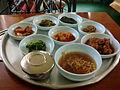 Table d'hôte in South korea.JPG