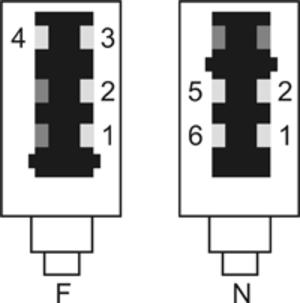 TAE connector - TAE plug