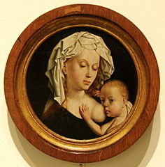 Virgin Suckling the Child