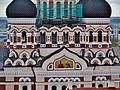 Tallinn Blick vom Mariendom auf die Alexander-Newski-Kathedrale 2.JPG