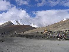 Tanglang La mountain pass in Ladakh