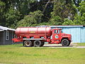 Tanker 2 at Monticello Vol Fire Dept, N Jefferson St.JPG