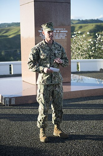 Ironbottom Sound - wreath laying ceremony at Guadalcanal in 2015