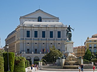 Eurovision Song Contest 1969 - Teatro Real, Madrid – host venue of the 1969 contest.