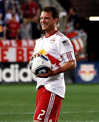 Teemu Tainio - Tainio playing for the New York Red Bulls in 2011