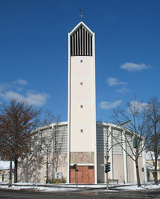 Tegel - Catholic church St Bernard