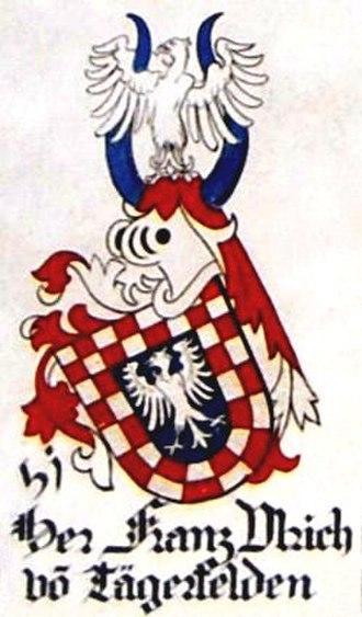 Swiss nobility - Image: Tegerfelden, Franz Ulrich von