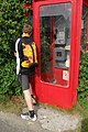 Telephone box at Brinian - geograph.org.uk - 1448630.jpg