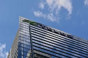 Telus Tower - Telus logo