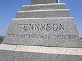 Tennyson Cross lower inscription.JPG