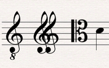 Clave Notación Musical Wikipedia La Enciclopedia Libre