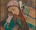 Teodor Axentowicz - Portret dziewczyny w stroju krakowskim.jpg
