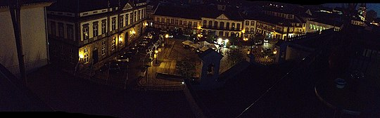 Terceria Town Square Azores Islands Portugal Panorama.jpg