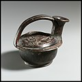 Terracotta askos (flask with a spout and handle over the top) MET DP1242.jpg