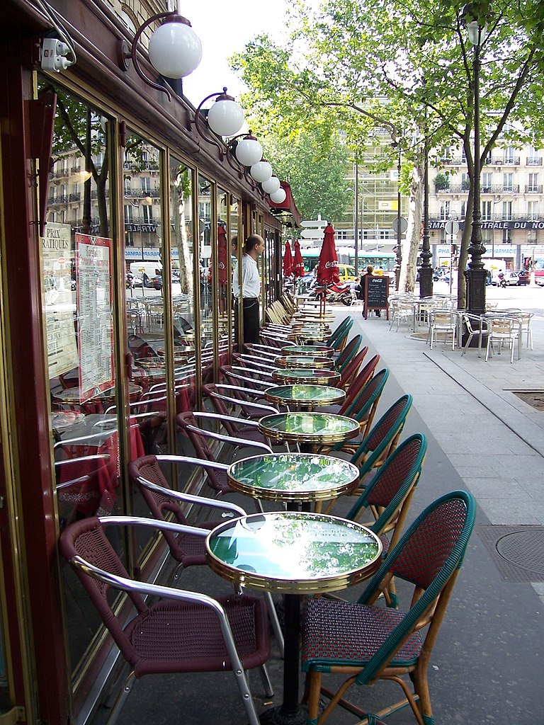 Caf De Paris Alain Chotard