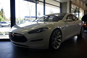 English: Tesla Model S