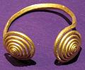 Tesoro di sacosu mare, braccialetto con voluta, XIII-XII sec. ac. 02.JPG