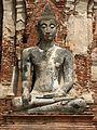 Thailand 06 - 11 Ayuthaya Buddha statue (158620956).jpg