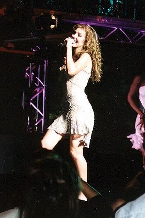 Premio Lo Nuestro 1998 - Mexican singer Thalía (pictured in 2004) was named Female Pop Singer of the Year.