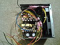 The 2nd power supply- wrapping all wires together.jpg