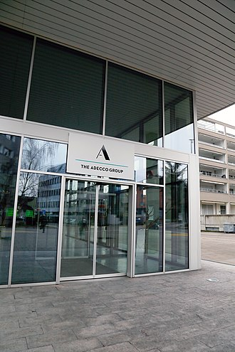 The Adecco Group - Image: The Adecco Group Entrance