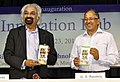 The Advisor to the Prime Minister of India on Public Information Infrastructure & Innovations and the Chairman of National Innovation Council, Shri Sam Pitroda releasing a brochure.jpg