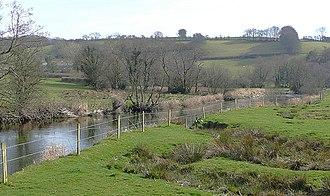 Bremia (fort) - Image: The Afon Teifi and Cefn Garth, Ceredigion geograph.org.uk 1243023