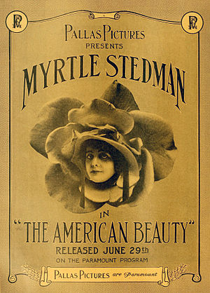 The American Beauty - period lobby poster
