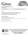 The Beijing Olympics political impact and implications for soft power politics (IA thebeijingolympi109453845).pdf