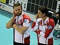 The Canadian Curlers C. Thomas and K. Park.JPG