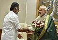 The Chief Minister of Tamil Nadu, Shri O. Panneerselvam calls on the Prime Minister, Shri Narendra Modi, in New Delhi on December 19, 2016.jpg