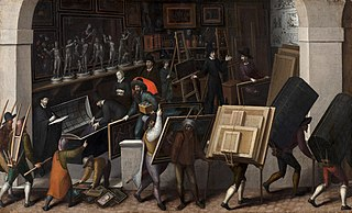 The Confiscation of the Contents of a Painter's Studio