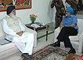 The Deputy Chairman, Planning Commission, Shri Montek Singh Ahluwalia meeting with the Chief Minister of Punjab, Shri Prakash Singh Badal, in New Delhi on May 04, 2007.jpg