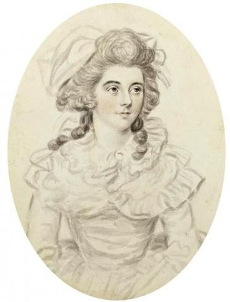 John Downman - Georgiana Cavendish, Duchess of Devonshire (c. 1780)